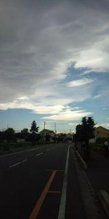 今日の雲☆アツ☆