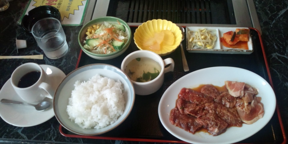 久しぶりのランチ焼き肉☆アツ☆